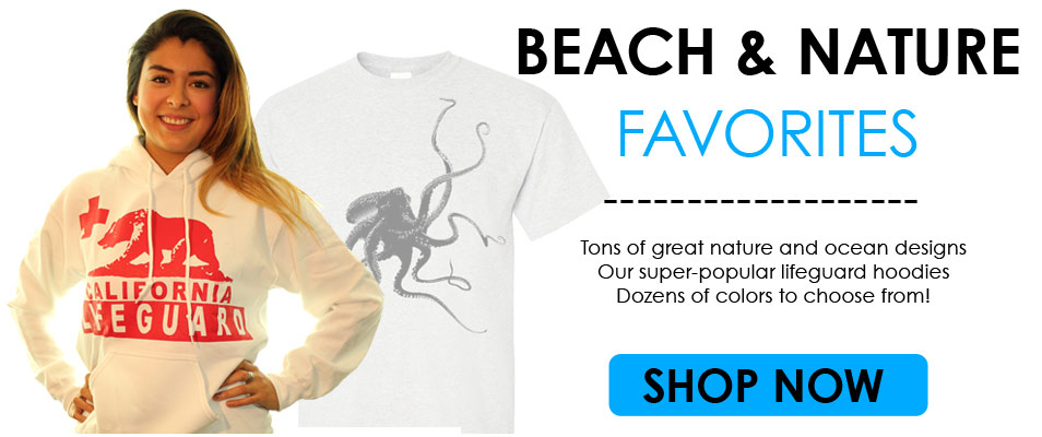 Beachwear, Lifeguard Hoodies at ShopDolphinShirt.com