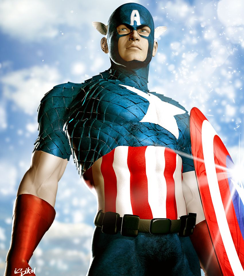 Official Marvel Captain America movie t shirts & merchandise.