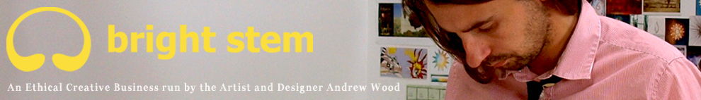 bright stem shop An Ethical Creative Business run by the Artist and Designer Andrew Wood