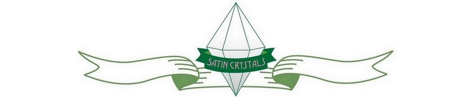 Satin Crystals Banner