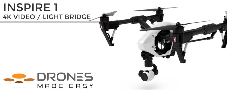 Drones Made Easy DJI Inspire 1