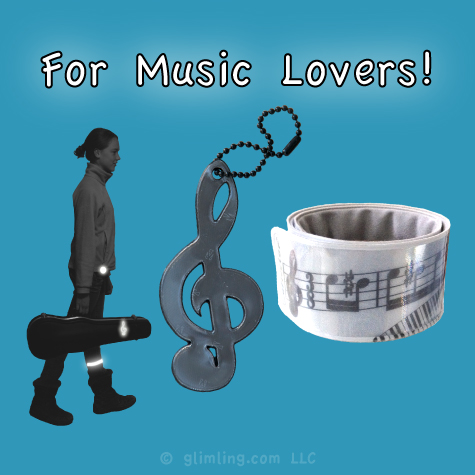 reflectors and gifts for music lovers