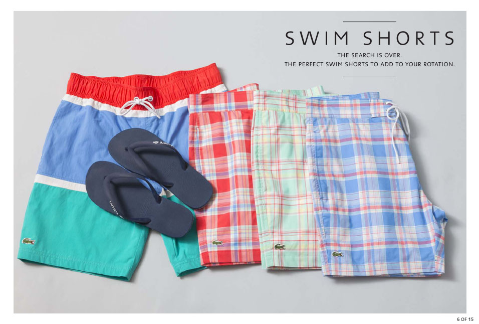 Shop Lacoste: Swim Shorts