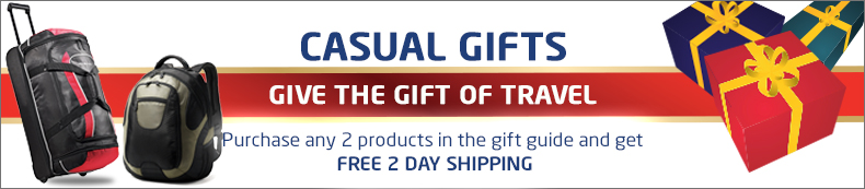 Casual Gifts. Give the gift of travel. Buy 2 or more and get free 2 day shipping.