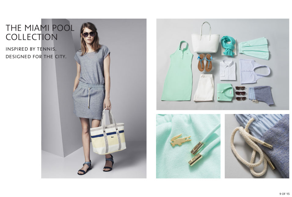 Shop Lacoste: Miami Pool Collection