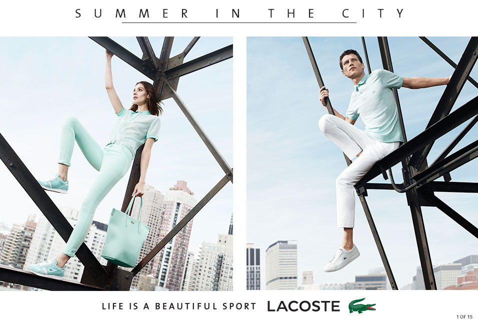 Shop Lacoste: Summer in the City