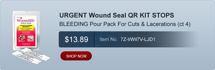 URGENT Wound Seal QR KIT STOPS