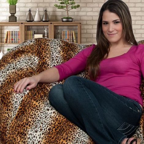 Animal Print Bean Bag Chairs