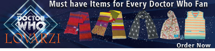Official Seventh Doctor Jumper, Silk Scarf, Tom Baker Doctor Who Scarf, Dalek Scarf