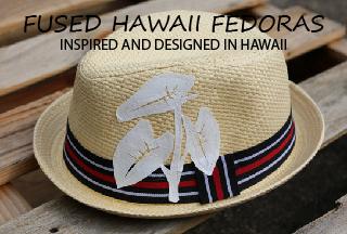 Fused Hawaii Fedora Hat