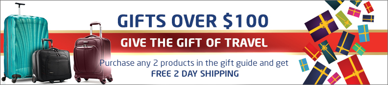 Gifts Over $100. Give the gift of travel. Buy 2 or more and get free 2 day shipping.
