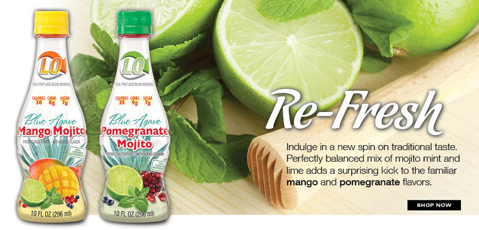Limes found in Lo, Low Glycemic Real Fruit Beverage