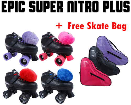 Epic Super Nitro Plus Quad Speed Skates