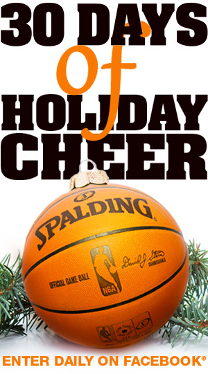 Enter the 30 Days of Spalding Sweepstakes on Facebook