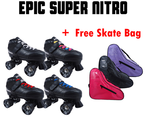 Epic Super Nitro Quad Speed Skates