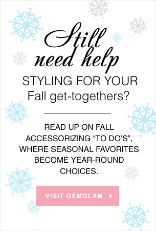 Still need help styling for your Fall get-togethers? We can help!