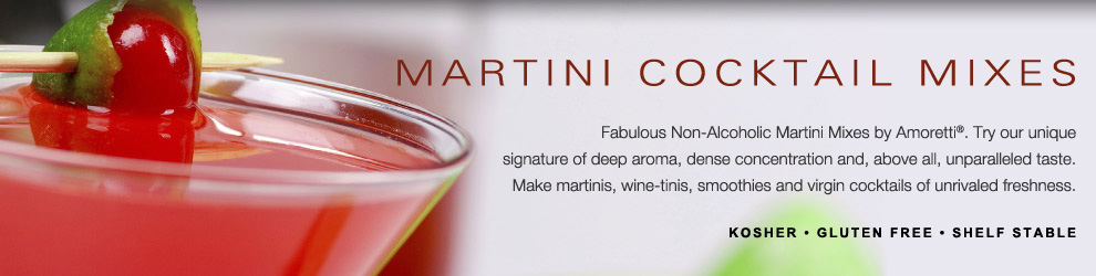Amoretti Martini Cocktail Mixes