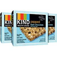 Kind Popped Dark Chocolate with Sea Salt Healthy Grains Granola