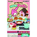 On BOX 8 Pcs My Melody Hospitality Kitchen (Candy Toys & Chewing Gum) by Re-Ment