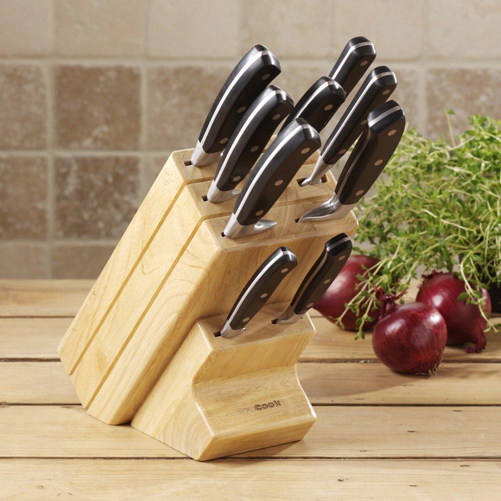 procook gourmet x30 knife set review kitchen kit out procook gourmet x30 knife set review