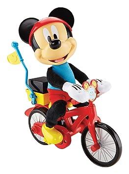 Mickey et son vélo fou