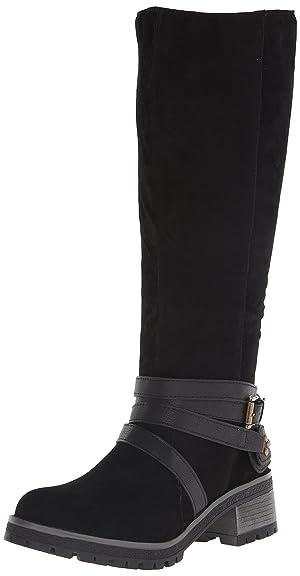 Fergalicious Women's Rita Tall Boot, Black, 8 US/8 M US