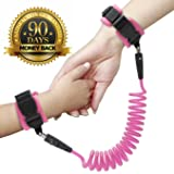 Anti Lost Wrist Link - Wrist Leash for Kids & Toddlers - Child Safety Wristband