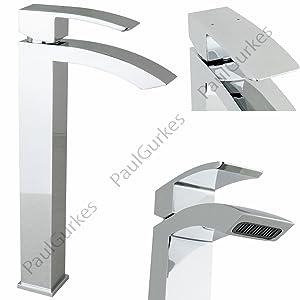 PaulGurkes Waschtisch Design Armatur lang eckig für Waschschalen  BaumarktKundenbewertung und weitere Informationen