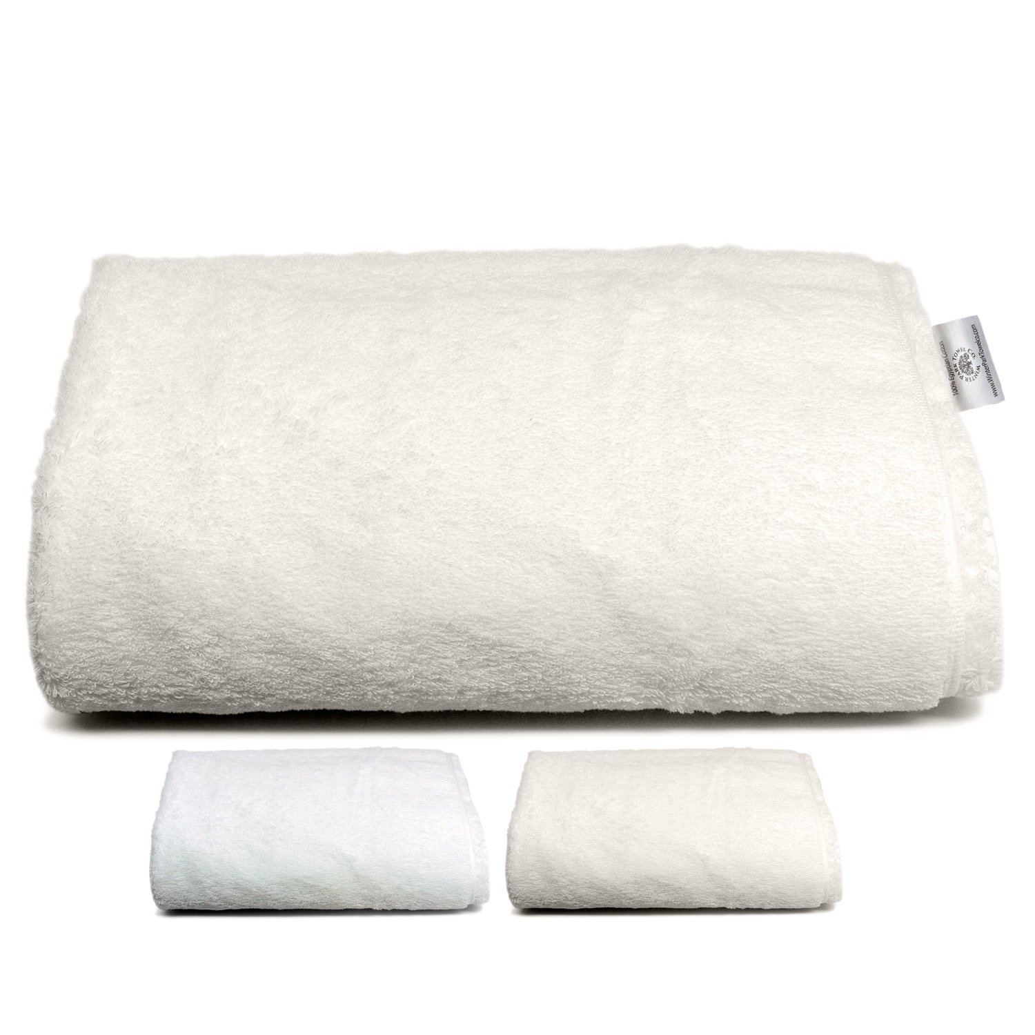 Oversized Luxury Ivory Bath Towels