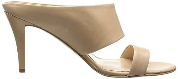 Nine West Women's Intilect Leather Dress Sandal - high heels - shoes women - stilettos
