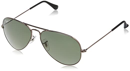 ray ban pilot sunglasses ofa0  Ray-Ban Aviator Sunglasses Gunmetal RB3025004/5858