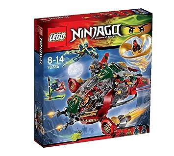 Lego Ninjago - Playthèmes - 70735 - Jeu De Construction - Le Jet Hybride De Rônin