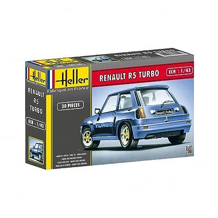 Heller - 80150 - Maquette -Voiture - Renault R5 Turbo - Echelle 1/43