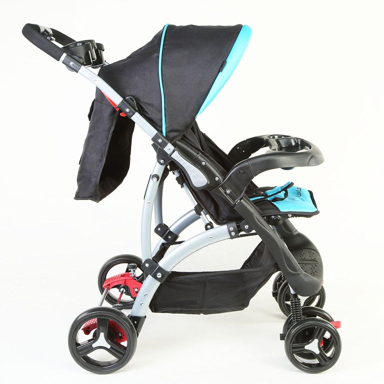 Sports Baby Stroller T281 - Blue/Black