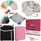 Holiday Gift Accessory Bundle FOR Fuji Instax (Mini 8, 26, 90, 300) - 8x8