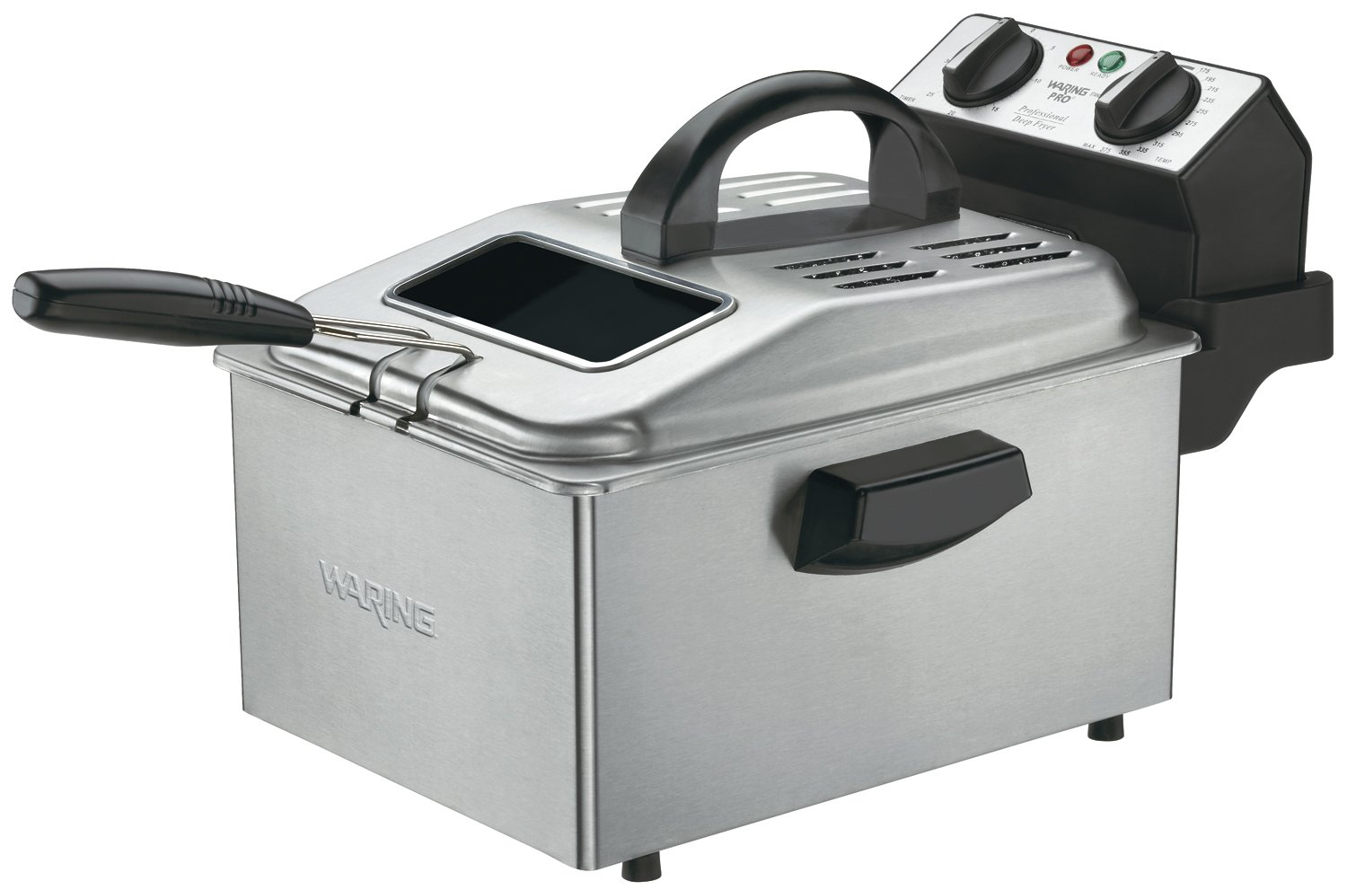 Waring DF280 Professional Deep Fryer Brushed Stainless at Sears.com