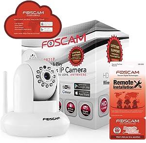 Foscam FI9821P Plug & Play dome camera