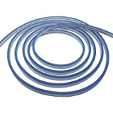 Pearlight DC12V Blue Silicone LED Neon Rope Light, Waterproof for Indoor & Outdoor Decoration DIY Signboard, 50 FT/15 Meters (Color: Blue, Tamaño: 50 ft/15 Meter)