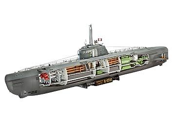 Revell - 05078 - Maquette - U-Boat Typ XXI U 2540 &Intérieur