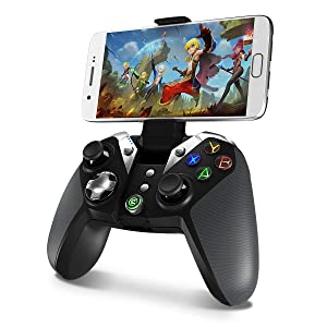 Game Controller Wireless, Gamesir Bluetooth Gamepad Joystick, for Android Phone Tablet/PC Windows 7 8 10 / PS3 / TV Box (G4) (Renewed) (Color: G4)