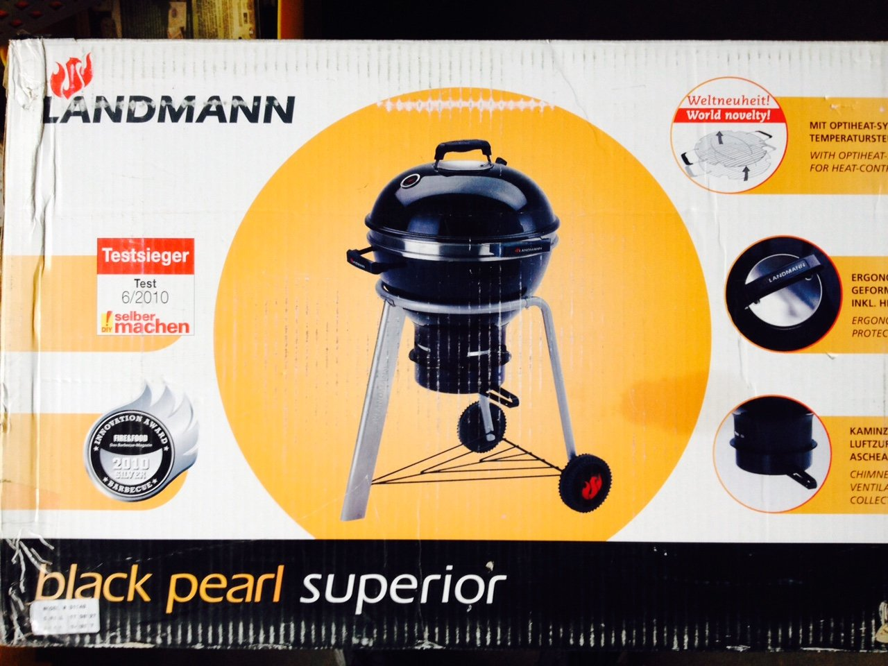 Landmann Kugelgrill Black Pearl Superior bestellen