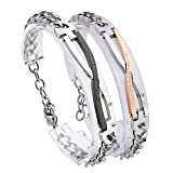 JOVIVI Valentines Day Gifts - Stainless Steel CZ Infinity