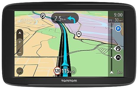TomTom Start 42Europe Traffic GPS 10,9cm (4,3pouces), Lifetime Maps, aide à la conduite, 3mois Radar caméras, cartes de 45pays de l'Europe)