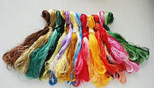 Silk thread, Embroidery Floss