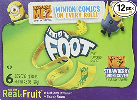 Fruit by The Foot Flavors Fruit by The Foot