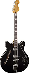 Fender Modern Player Coronado, RW, Black reviews other related content