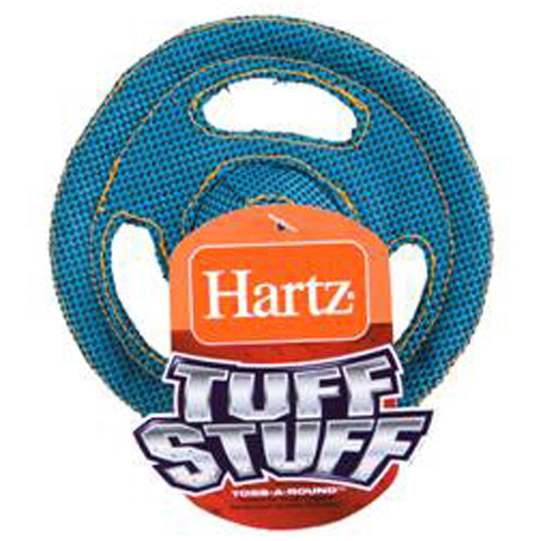 Hartz Tuff Stuff Flyer Dog Toy for Tiny Dogs, Colors May Vary tiny dog