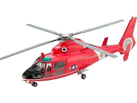 Revell - Maquette - Eurocopter Sa 365 Dauphin 2  - Echelle 1:72