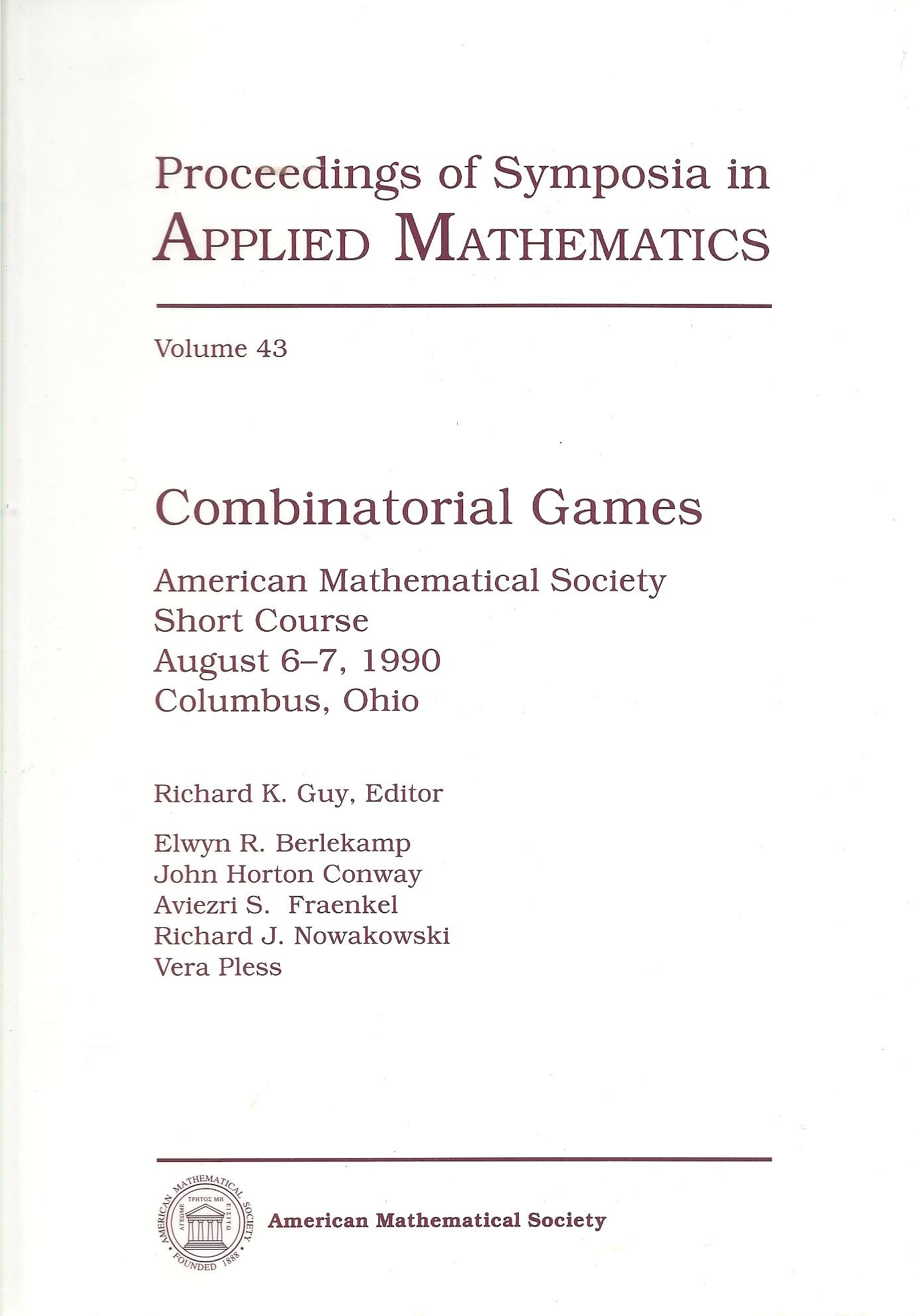 Combinatorial games [electronic resource]