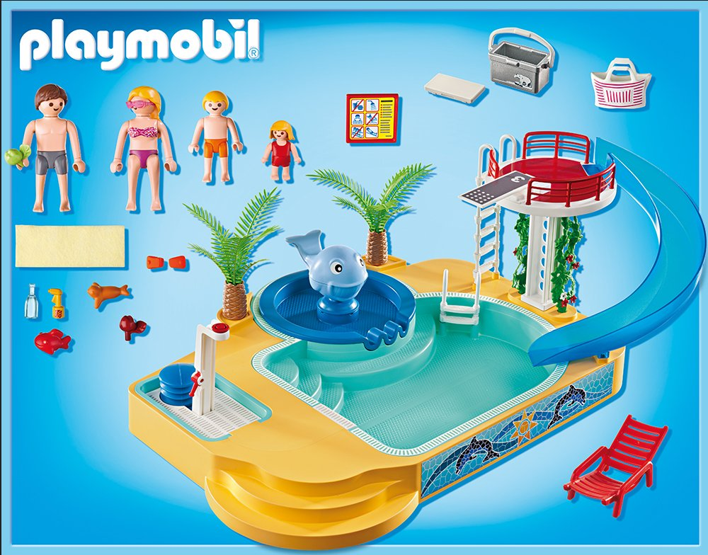 Ebay for Playmobil piscina con tobogan